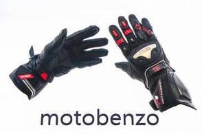 Мото рукавички    VEMAR   червоні, розмір M