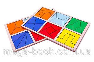 Методика Нікітіних. Склади квадрат 2-й рівень.