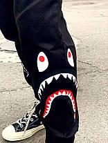 Карго штани Bape Black Shark (Без флісу), фото 3