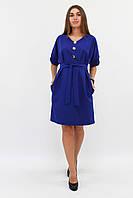 (S, M, L) Ультрастильне синє повсякденне плаття