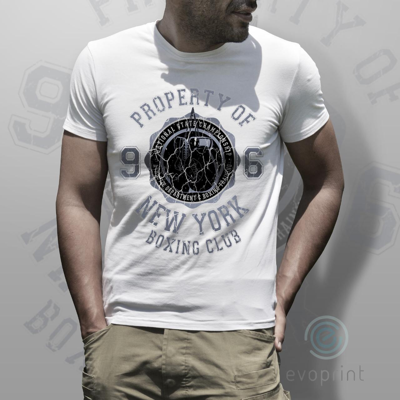 Печать логотипа спорт клубов на футболки