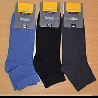 Шкарпетки чоловічі однотонні  середні арт.325 в кольорах