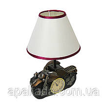 Торшер настільний з годинником, 30*20 см