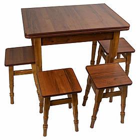"""Раскладной стол с табуретками """"Орех"""""""