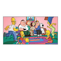 """Чашка з принтом """"The Simpsons"""", Кружка керамическая """"Симпсоны"""", фото 2"""