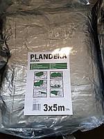 Тент Tenexim Mocny 3*5 м, готовые размеры в асс., плотный 120 г/м2 серебряный с УФ-защитой, фото 1