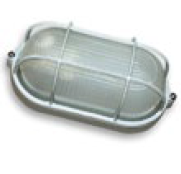 Світильник Ecostrum МС-1151 60W 1хЕ27 IP65 овал. Металл / Стекло