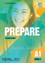 Учебник Cambridge English Prepare! Second Edition 1 Student's Book