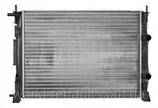 Радиатор системы охлаждения на Рено Сценик II 1.5dci, 1.6i 16V, 1.4i 16V, 1.9dc / NRF 58327