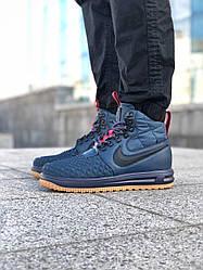 Мужские кроссовки Nike Lunar Force 1 Duckboot 17 (синие)