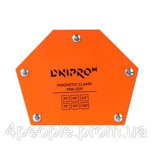 Магнитный угольник для сварки Dnipro-M MW-2211, фото 2
