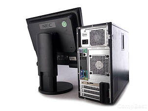 "Dell OptiPlex 790 MT / Intel Core i3-2100 (2(4)ядра по 3.10GHz) / 4 GB DDR3 / 500 GB HDD / AMD Radeon HD7500 1 GB + Монитор NEC EA191M / 19"", фото 2"