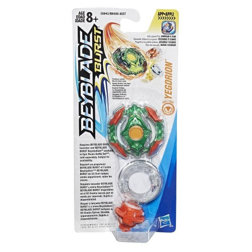 Beyblade hasbro-Бейблэйд Волчок (Бейблэйд Single Top Yegdrion (C0943))
