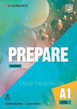 Cambridge English Prepare! Second Edition 1 Workbook with Audio Download / тетрадь