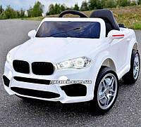 Детский электромобиль M 3180 EBLR-1 BMW с мягким сиденьем, белый
