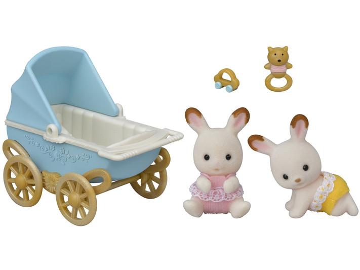 Sylvanian Families  Шоколадные Кролики-двойняшки  5432