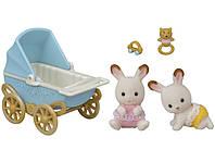Sylvanian Families  Шоколадные Кролики-двойняшки  5432, фото 1