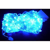 Гирлянда Водопад 320LED, 3x3м С заглушкой (10x32LED) Синий, фото 1