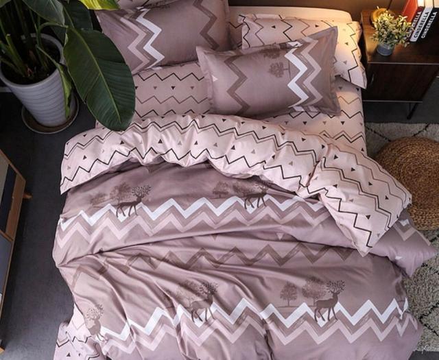 картинка постельное белье бежевого цвета