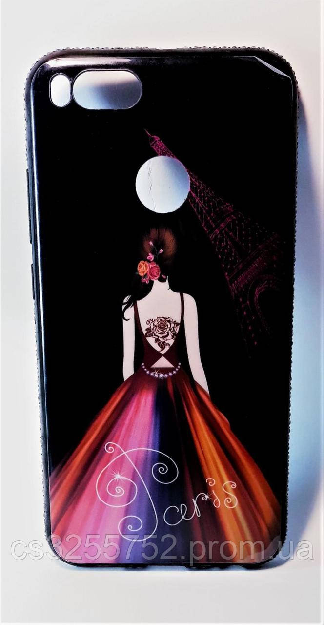 TPU чехол Magic Girl со стразами для  Xiaomi Mi 5X / Mi A1