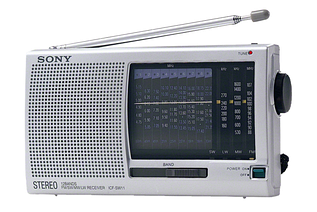 Радіоприймач SONY ICF-SW11
