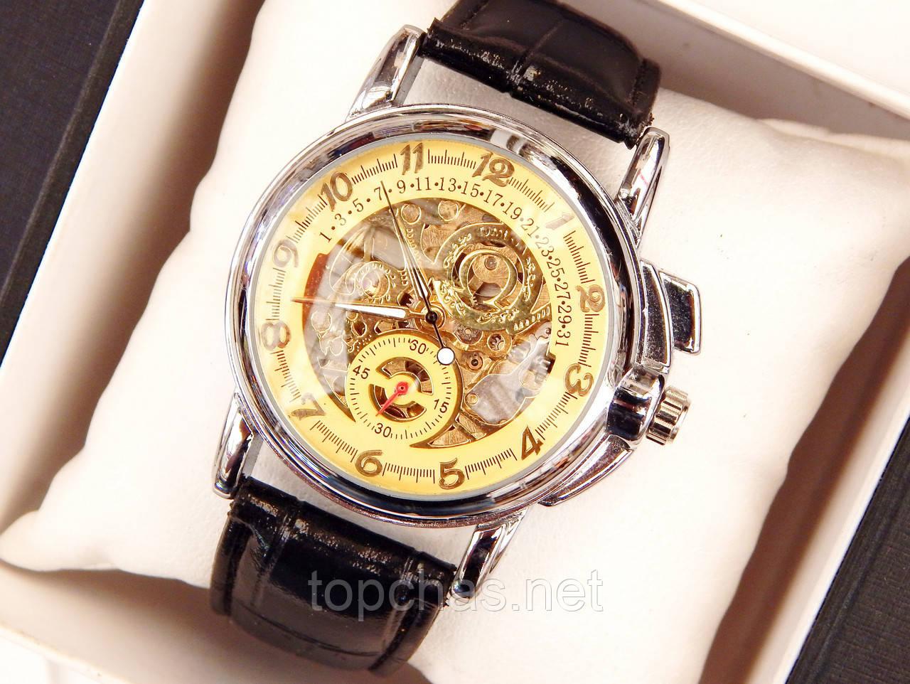 Мужские механические наручные часы скелетоны Omega - Top Chas - Интернет  магазин Вашего стиля в Харькове 78445e960b6