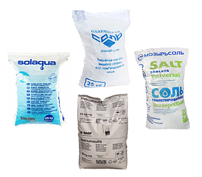Для регенерації (сульфіт натрію, таблетована сіль, і тд)