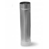 Труба Ф130 из оцинкованной стали 0,5мм  1метр