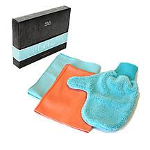 Набір Aquamagic UJUT mini (серветки, спонж і рукавиці) для прибирання в домі (щадний догляд)