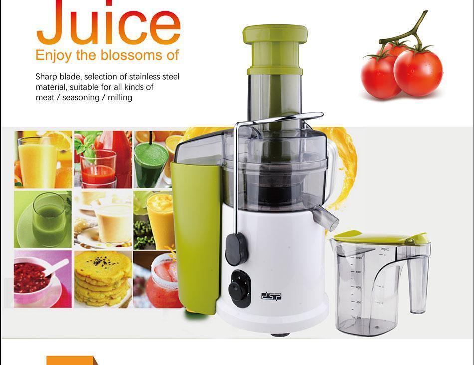 Соковыжималка DSP KJ 3031 Электрическая соковыжималка  Соковыжималка для овощей и фруктов