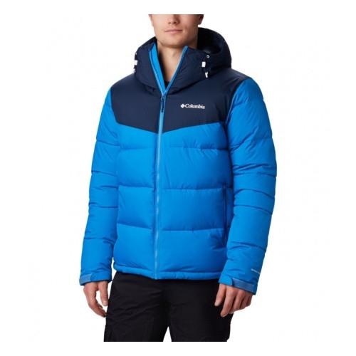 Мужская синяя лыжная куртка Columbia Iceline Ridge Jacket