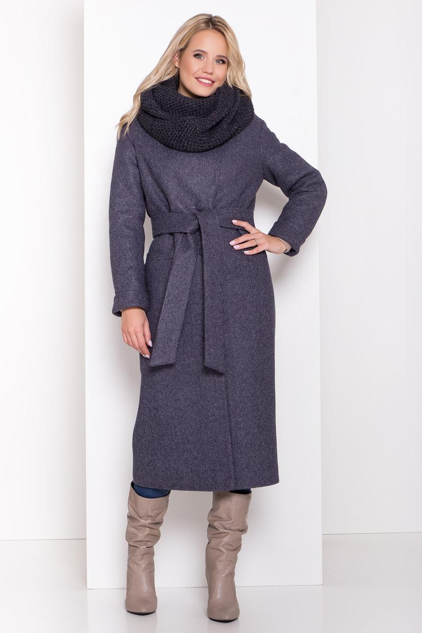 Удлиненное женское зимнее пальто (р. S, М, L) арт. В-83-45/44508