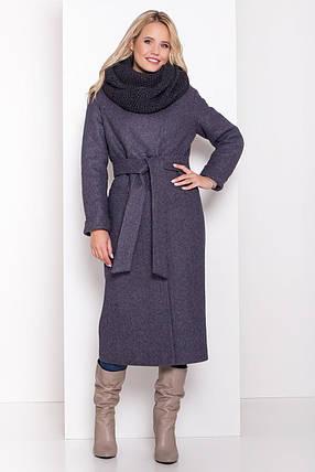 Удлиненное женское зимнее пальто (р. S, М, L) арт. В-83-45/44508, фото 2