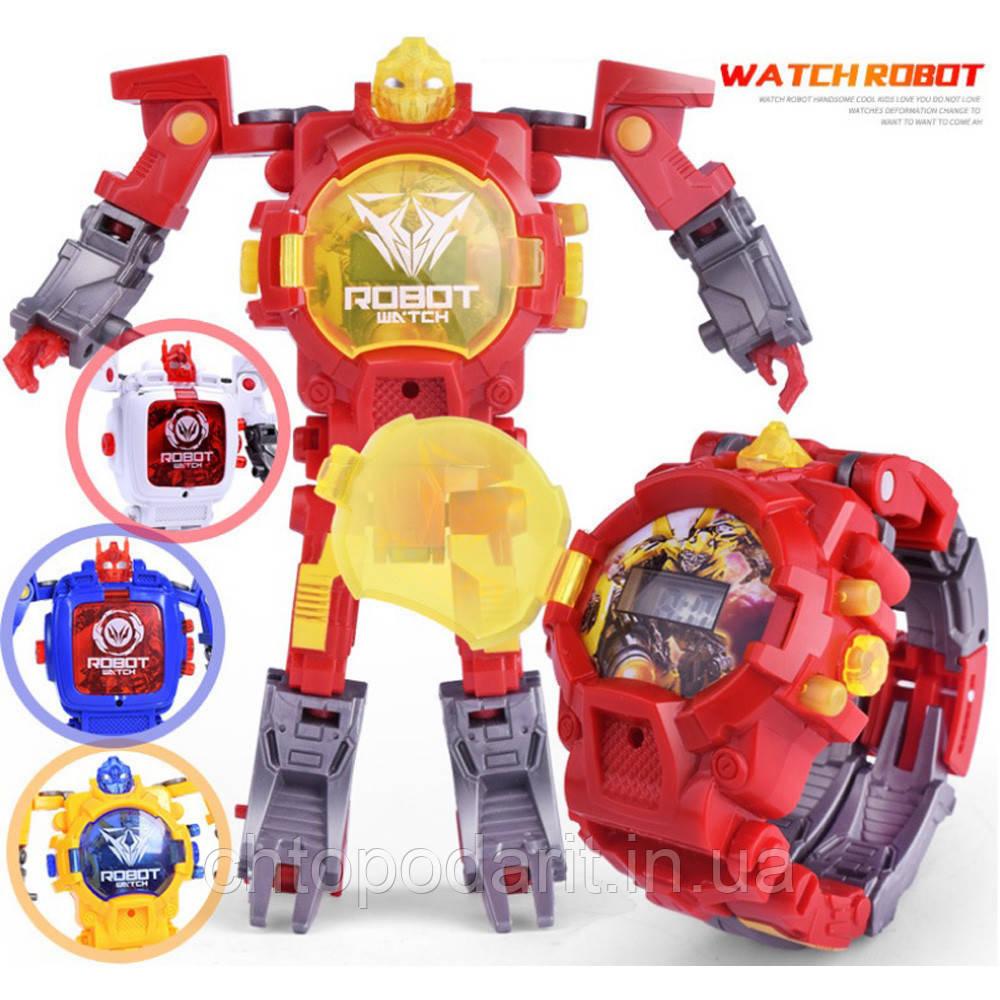 Часы трансформер робот Код 10-8065