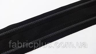 Лента корсажная с латексом 50 мм черная