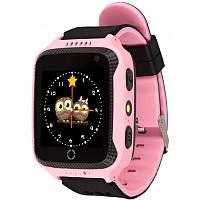 Детские умные часы Smart Watch Q529 Original с GPS и камерой Flamingo