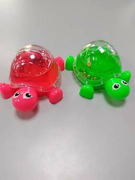Лизун слайм черепаха з намистинами