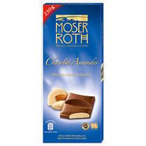 Шоколад молочный Moser Roth Chocolat Amandes Edel Marzipan Vollmilch 230 гр. Германия