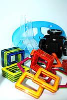 Набір для конструювання з різними способами з'єднання деталей (Магнітний конструктор) 48 деталей