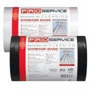 Мешки для мусора PRO-81202 100шт черные 35л 50*55см 6.5мк
