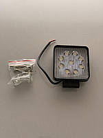 Светодиодная LED фара рабочая 27W/60° 27Вт,(3Вт*9ламп)