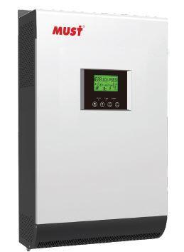 Инвертор автономный 5 кВА - 4 кВт 48В MPPT контроллер 80А MUST PV1800 HM 5KVA/4000W