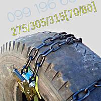 """Браслеты цепи противоскольжения 'SILA+"""" для грузовиков R21-22.5 275/305/315/70/80"""