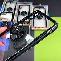 Чехол на Айфон с кольцом-подставка-держатель Ring Bracket TPU Cover Case
