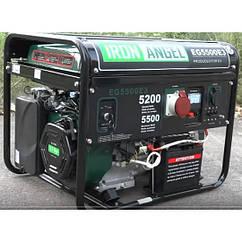 Бензиновий генератор Iron Angel EG 5500 E3