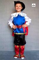 Дитячий карнавальний костюм Кіт у чоботях для хлопчика