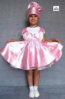 Карнавальний костюм дитячий Цукерка для дівчинки