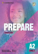 Учебник Cambridge English Prepare! Second Edition 2 Student's Book
