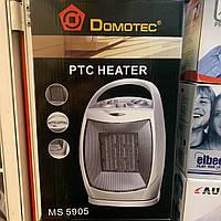 Керамический тепловентилятор , обогреватель поворотный бытовой, дуйка Domotec MS 5905 дуйчик дувчик