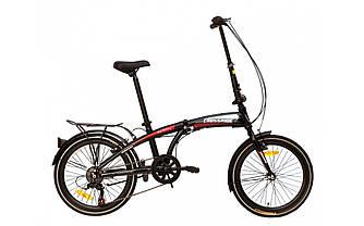 """Велосипед складной CROSSRIDE 20 FLD ST """"CITY FOLDING"""" Черный"""